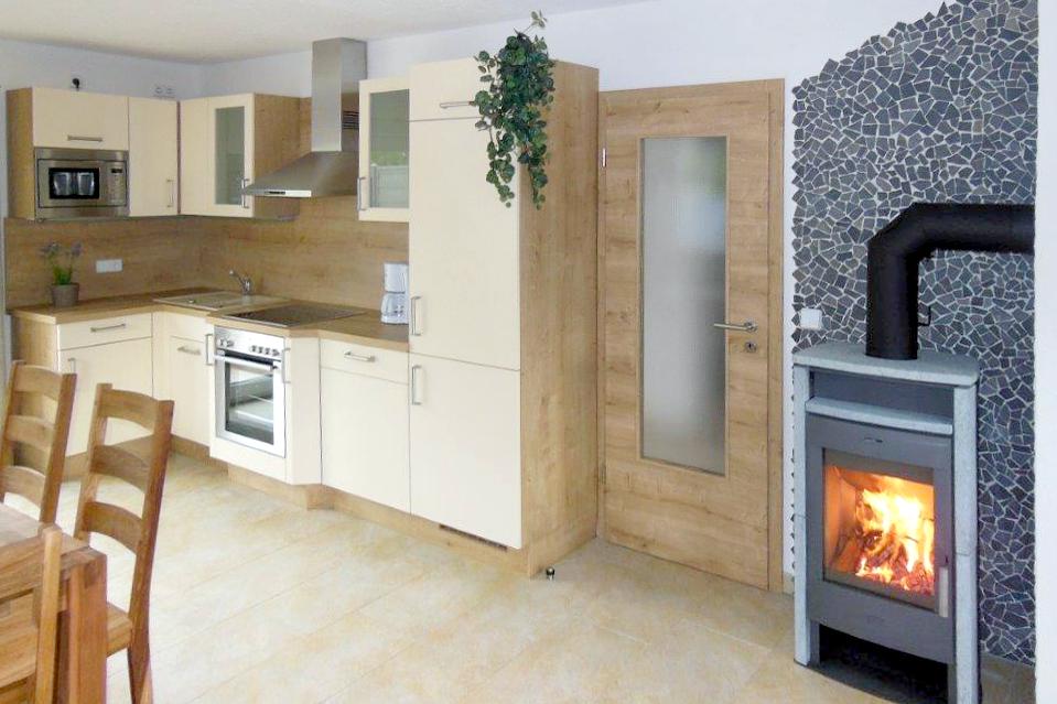 Moderne Kuchenzeile Apartments Feriendomizil Vetter