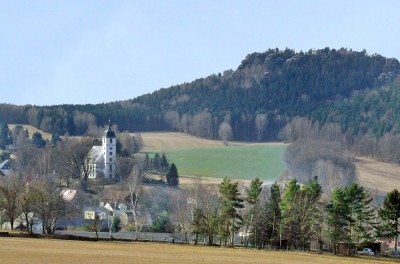 Papstdorf - Ortsteil des Kurortes Gohrisch
