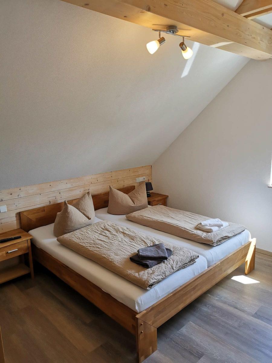 Apartment Häntzschelstiege Doppelbett