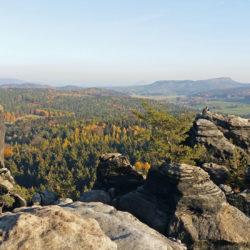 Barbarine - Sandsteinfelsen am Pfaffenstein