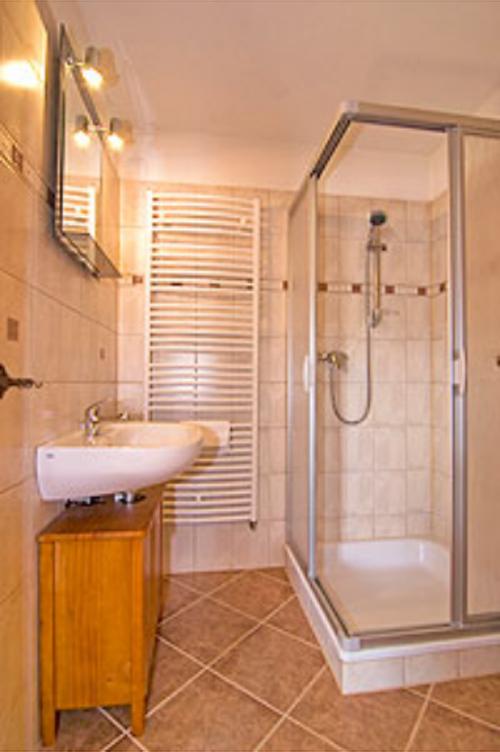 Duschbad in der Kutscherstube