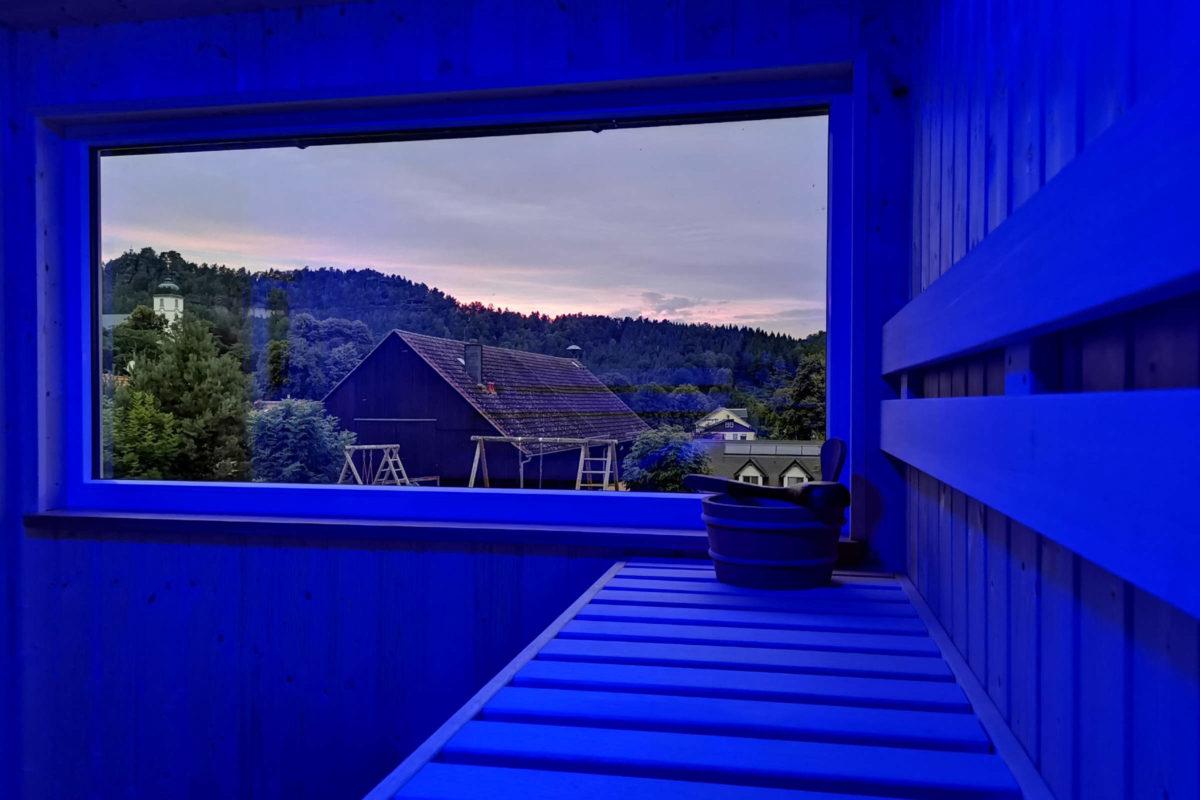 Sauna Lichtspiel