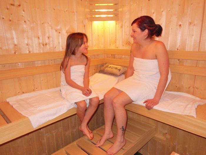 Sauna in jedem Ferienhaus