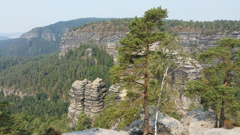 Sächsische Schweiz - einmalige Ausblicke