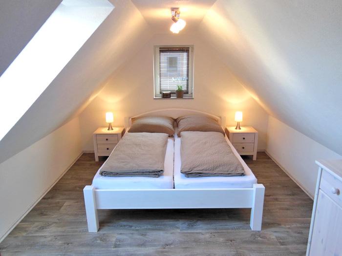 Gemütliches Schlafzimmer Im Spitzboden